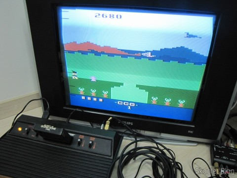 Bobby is Going Home on the Atari VCS / 2600 through the composite video output