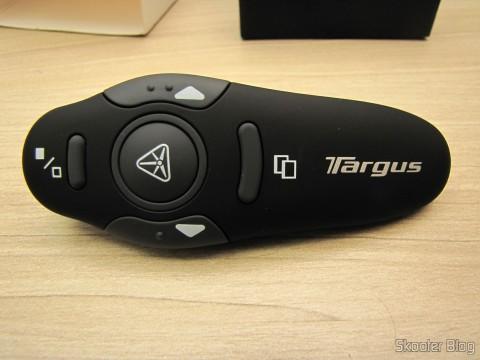 Apresentador Sem Fio USB RF com Apontador Laser para PC/Laptop (USB RF Wireless Presenter with Laser Pointer for PC/Laptop – Black (10-Meter Range))