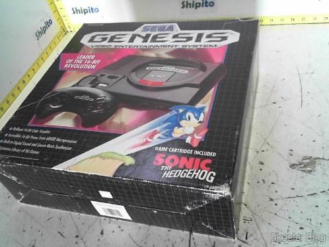 Foto do Sega Genesis enviada pela Shipito