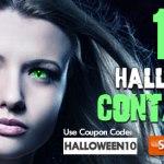 AC Lens - 10% de Desconto em Lentes de Contato de Halloween