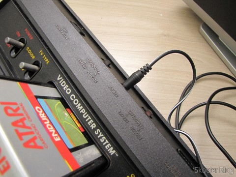 The power supply for Atari 2600 Retro-bit operating