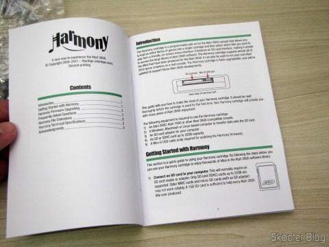 Manual do Harmony Cartridge - O cartucho com memória flash para o Atari 2600