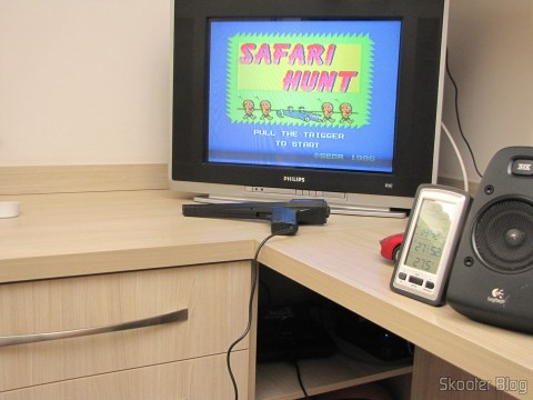 The Mega Drive III installed in the closet