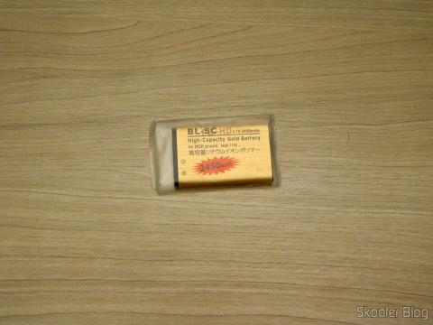 """Bateria BL-5C-GD 3.7V """"2450mAh"""" Golden"""