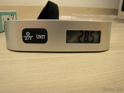 "Digital Luggage Scale with LCD 1.4 ""50Kg / 50g (1.4″ LCD Digital Luggage Scale – 50kg/50g (1 x CR2032))"