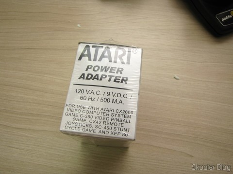 Atari US 2600/2600A/2600JR Power Adapter, in sealed package