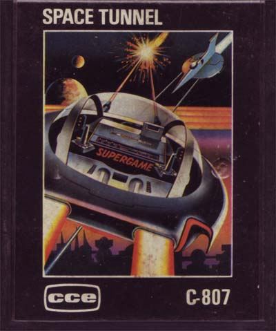 The Space Tunnel CCE cartridge