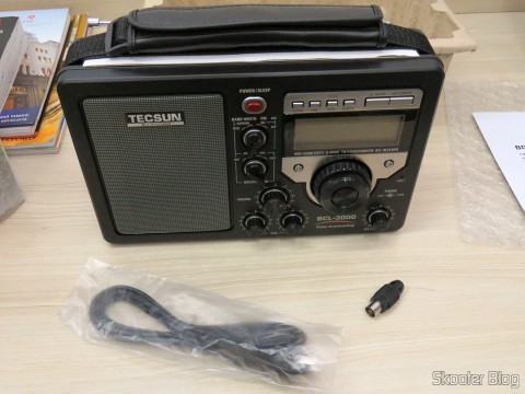 Radio Tecsun BCL-3000 with Analog Tuner and Digital Display AM / FM / SW World and accessories