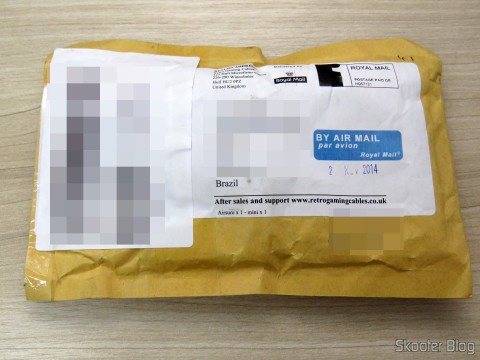 Package with EuroSCART Converter for Framemeister XRGB Mini