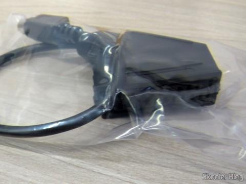 EuroSCART Converter for Framemeister XRGB Mini, on its packaging