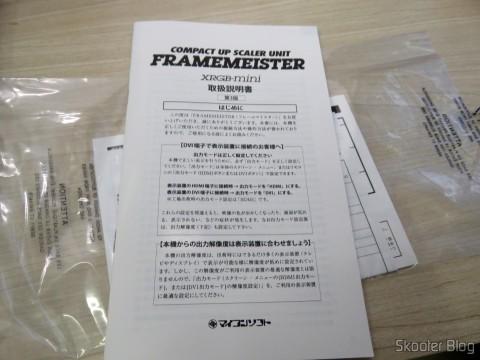 Manual de instruções do Framemeister XRGB Mini