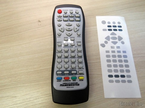 Remote Control Mini Framemeister XRGB already adesivado