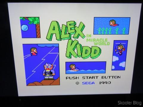 Alex Kidd in Miracle World no Framemeister XRGB Mini
