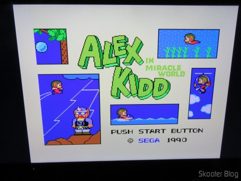 Alex Kidd in Miracle World no Framemeister XRGB Mini