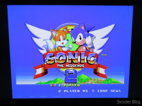 Sonic The Hedgehog 2 no Framemeister XRGB Mini