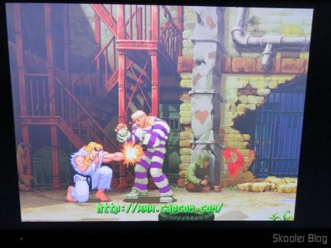 Street Fighter Alpha 3 do Playstation One no Framemeister XRGB Mini