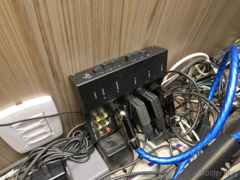 RGB SCART Cable for Super Nintendo (SNES) NTSC / PAL-M with CSYNC connected to Switch SCART RGB
