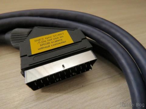 Cabo SCART RGB do Super Nintendo (CSYNC) with upgrade to Cape multicore coaxial mini