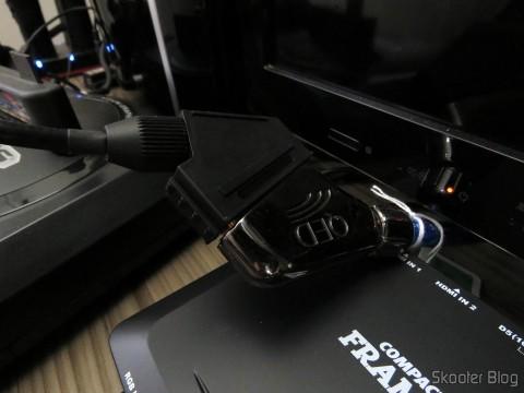 SCART adapter for operating Framemeister