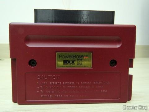 Parte traseira do PowerBase Mini FM