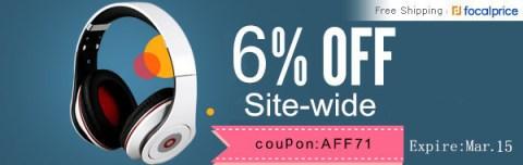 FocalPrice - 6% Free Shipping