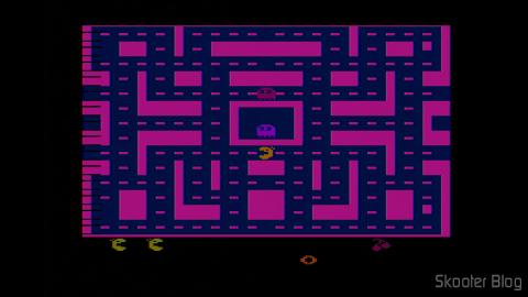 Ms. Pac-Man, do Portal 2600