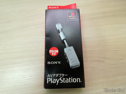 Sony Playstation AV Adapter SCPH-1160 in its packaging