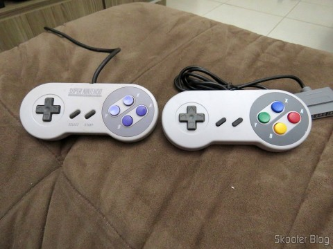 Control Original Super Nintendo and Classic Controller Wired for Super Nintendo SNES and Retro-Tech Duo TX
