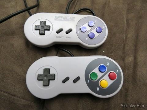 Control Original Super Nintendo and Classic Controller Wired for Super Nintendo SNES and Retro-Tech Duo TX
