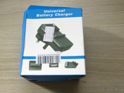 Travel AC Power Battery Charger + Battery for Samsung Galaxy Grand i9080 / Duos i9082 (US / EU Plug) on its packaging