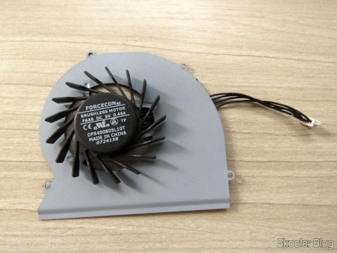 Cooling fan for Dell Latitude E6220 - Forcecon DFS400805L10T FAA6
