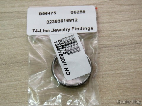 Mood ring (Mood Ring) with 12 Color Variables for Silver Emotions, on its packaging