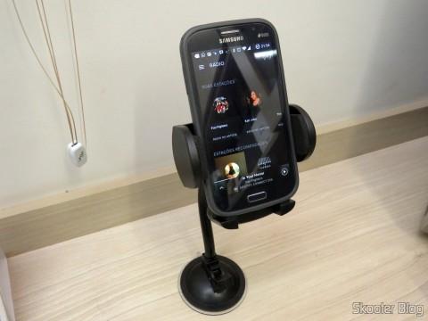 Suporte Universal p/ carro 1325 p/ celular GPS PDA iPod - Leadership