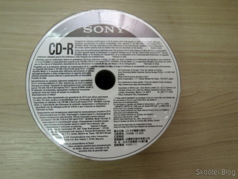 Pack of 50 CD-R Sony