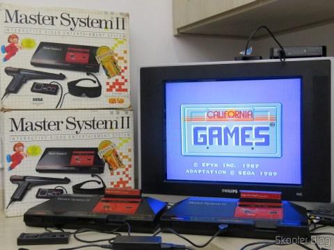 Master System II da Tec Toy - Promoção Jogos de Verão