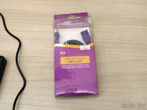 Extensor USB 3.0 Millionwell e Cabo para Multímetro