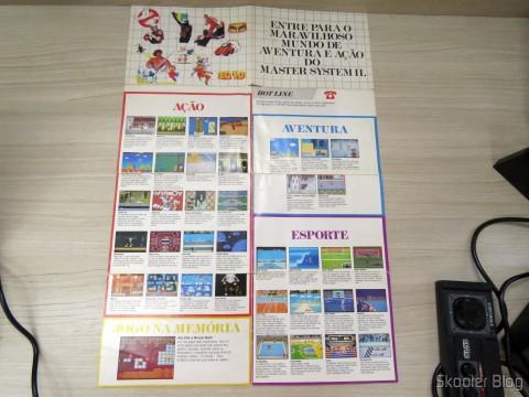 Folheto de Jogos e Acessórios