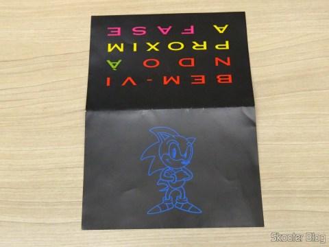 Brochure accompanying the Mega Drive III Tec Toy