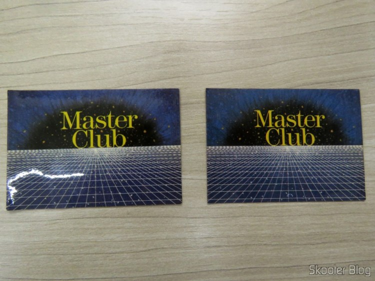 Cartão de Sócio do Master Club