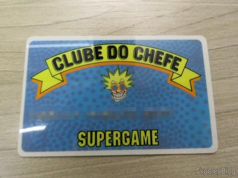 Cartão do Clube do Chefe da Super Game