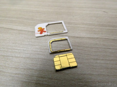 My Vivo Chip already cut to Nano SIM