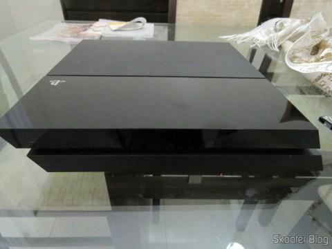Abrindo o Playstation 4 para instalar o HD Samsung Spinpoint ST2000LM003 2TB