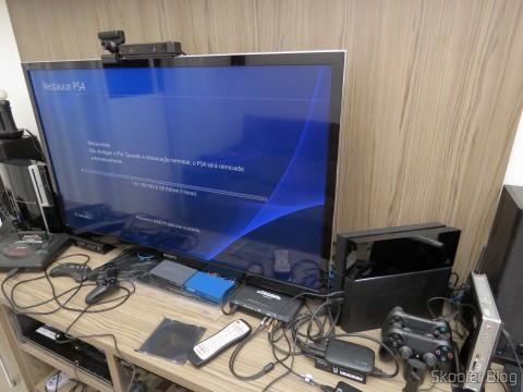 Restaurando todos os dados no Playstation 4 após a instalação do HD Samsung Spinpoint ST2000LM003 2TB