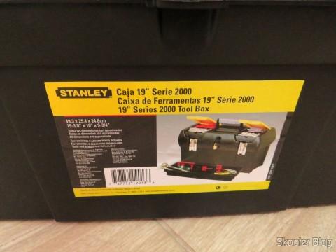 """Caixa de Ferramentas 19"""" Stanley - Série 2000"""