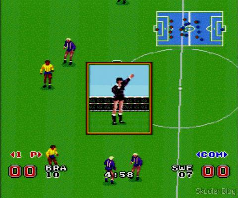 Goal! - Super Nintendo - Faltas e Impedimentos