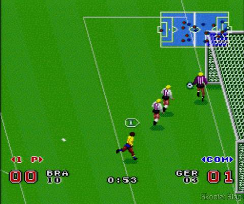 Goal! - Super Nintendo