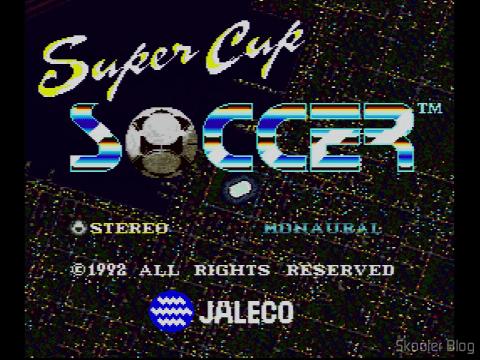 Super Cup Soccer - Estéreo ou Mono