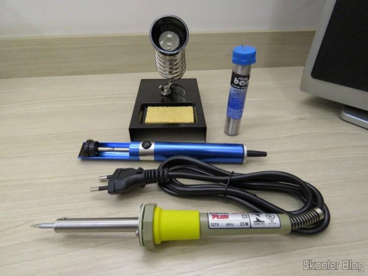 Kit Ferro de Solda Hikari Plus SC-30