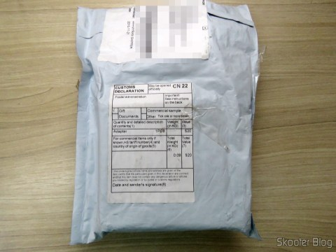 Pacote da Geek Buying com a Pulseira Inteligente Xiaomi Mi Band 1S