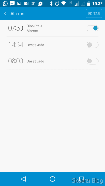 Configuring Smart alarms in Mi Band with the Mi Fit